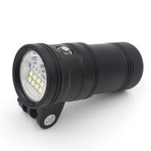 Bouton d'indicateur d'alimentation LED 150m éclairage de plongée sous-marine pour photo / vidéo