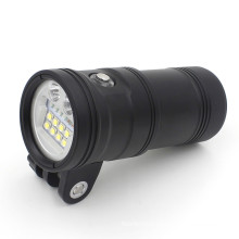 LED power indicator button 150m underwater dive light for Photo/Video
