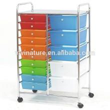 Hot vente tiroir en plastique tiroir organisateur de stockage