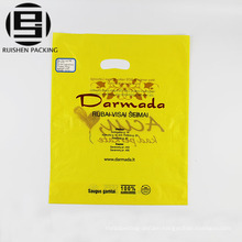 Cheap printed die cut packaging bags for clothes