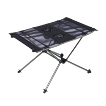 Factory sale outdoor aluminum table portable lightweight camping folding table