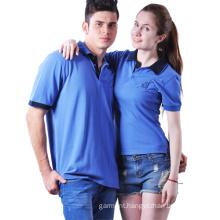 2016 Hot Couple Leisure Blank Black Polo Shirts