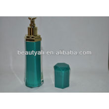 Diamond Cosmetic Packaging Acrylic Airless Bottles