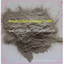 High hardness blasting abrasives brown fused alumina price
