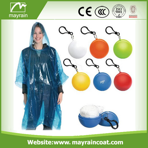 Poncho in Ball for Gifts