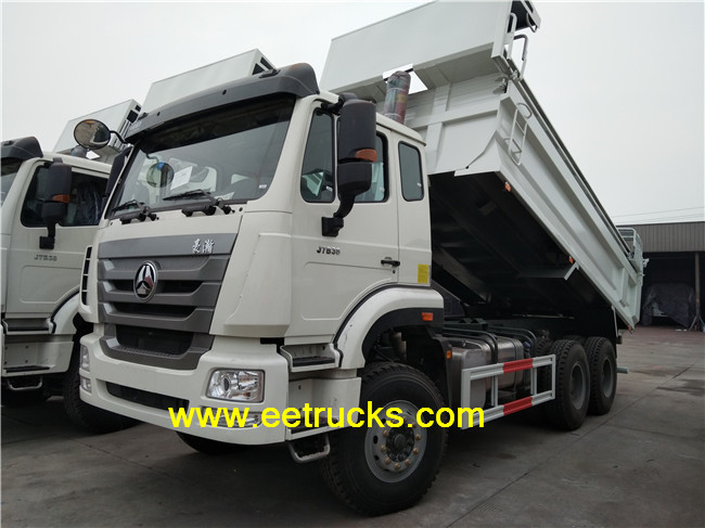 10 Wheeler Self-dumping Trucks