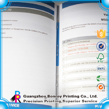 Low Cost Printing Foldable Decorative File Folders With Flap