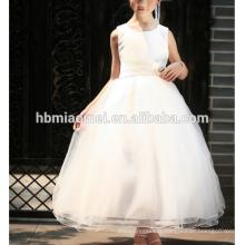 Nouvelle Arrivée De Mode Robes De Fête pour Filles Robes Floral Perlé Blanc Fleur Fille Robes robe d'ange pour bébé fille