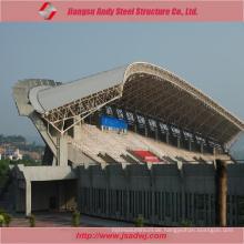 Vorgefertigte große Span Stahl Traversen Dach für Stahl Struktur Gymnasium