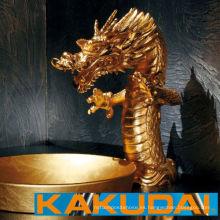 De alta calidad tradicional y moderno estilo japonés cuenca popular y grifo. Fabricado por Kakudai Mfg. Co., Ltd. Hecho en Japón