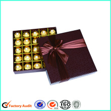 New 2017 Chocolate Packaging Texture Boxes Suprimentos