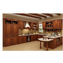 2016 New Solid Wood Kitchen Cabinet (many colors)