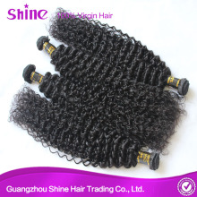 Natural Shine Virgin Mongolian Kinky Curly Hair Extensions