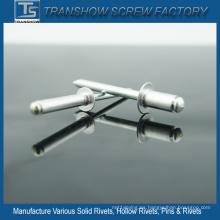 Remaches ciegos de acero de aluminio 4X8mm 5052 DIN7337