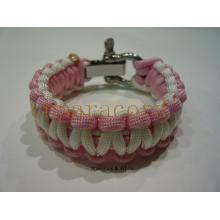 easy lock adjustable buckle paracord bracelet