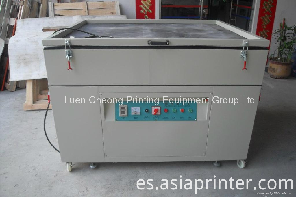 Semi-automatic Screen Frame Exposure Machine