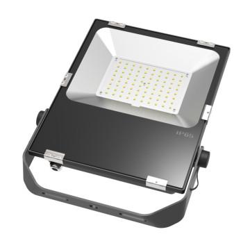 Inundação do diodo emissor de luz de 220V 80W que ilumina o quadrado impermeável do jardim IP65 8000lm