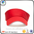 Promotional sun hats/sun protection hats/red visors