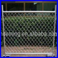 Beweglicher Zaun Qualität mit gutem Preis Heißer Verkauf Gebrauchtes Drahtgitter-Zaun Temporäre Zaundraht-Ineinander greifenverkleidung
