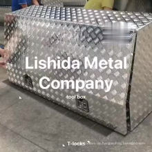 Kundenspezifischer wasserdichter Aluminium-LKW-Hochleistungswerkzeugkasten für ute Kundenspezifischer wasserdichter Aluminium-LKW-Hochleistungswerkzeugkasten für ute