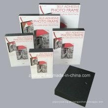 Frame de bloco reutilizável da foto do quadro da foto de A4 / 8X10 / 6X8 / 5X7 / 4X6 Frame Self-Adhesive