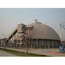 Cement warehouse in cement plant