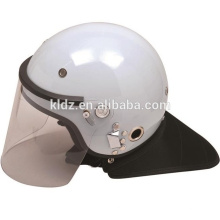 Anti-Roit Helmet PC / ABS Black / White French para equipo militar