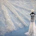 tela de encaje sexy al por mayor de 150 cm para el vestido de mujer