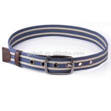 Ceinture de ceinture en polyester unisexe en gros pour jeans