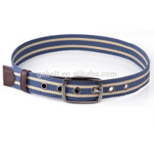 wholesale unisex polyester webbing belt for jeans
