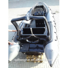 RIB580C inflatable boat motor boat with ce