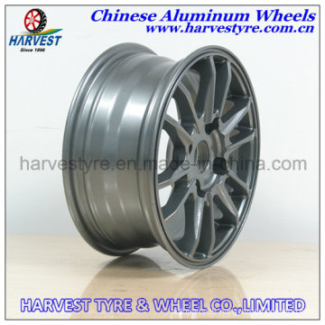 Black Vacuum Chrome Alloy Rims for Car and SUV