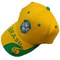 Brazil team cap quality design sports hat baseball cap