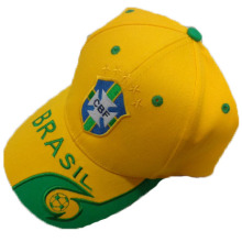 Brazil team cap quality design sports hat baseball cap