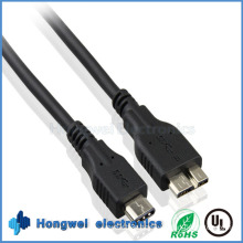 1 Meter USB3.1 Typec Male to Microb Cable