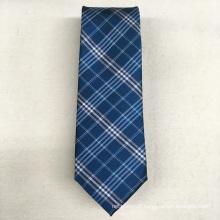 Cravate en polyester tissé à haute visibilité de marque privée de vert de label de haute visibilité
