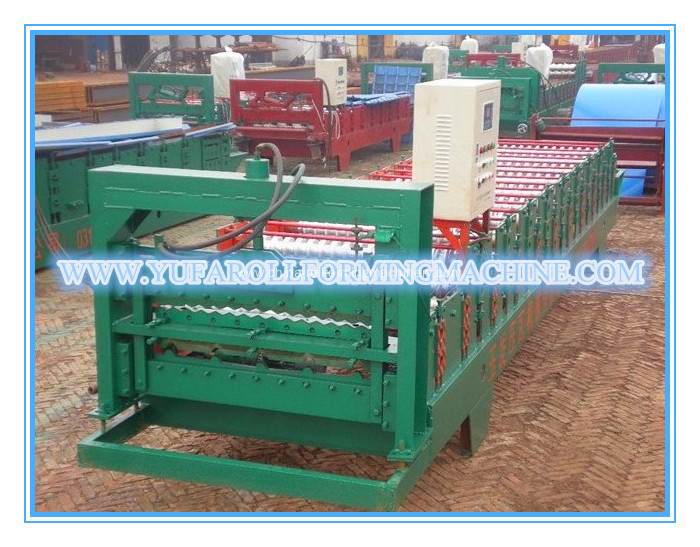 Fully Automatic Double Layer Roof Panel Roll Forming Machine
