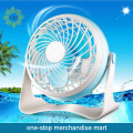 Home use Plastic Desk Fan USB and Battery Power