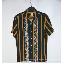 Летние повседневные мужские рубашки на пуговицах