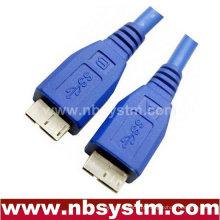 3.0 Cabo USB micro A macho - macho micro B