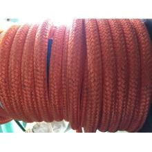 Les doubles brins doubles de polyester de polyéthylène de poids moléculaire ultra élevé amarrent la corde d'amarrage