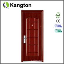 Porta de ferro anti-roubo com design moderno (porta de ferro)