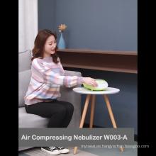 Nebulizador de compresor para el tratamiento del asma