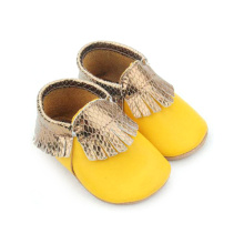 Leather Baby Shoes Soft Sole Baby Moccasins