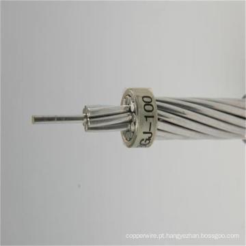 Fio de aço revestido de alumínio Acs de aço inoxidável para linha de transmissão de longo alcance