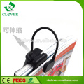 Promotional ABS rechargeable clamp led bedside reading lamp