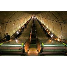 Escaleras mecánicas de Aksen Tipo de tráfico pesado