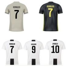 18 19Juventus Jersey camiseta de fútbol manga corta