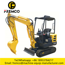 Family Farmland Excavator for Digging Soil