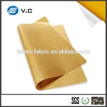 Бесплатный образец Высокотемпературная ткань Тефлон стеклоткани Тефлоновая ткань лист